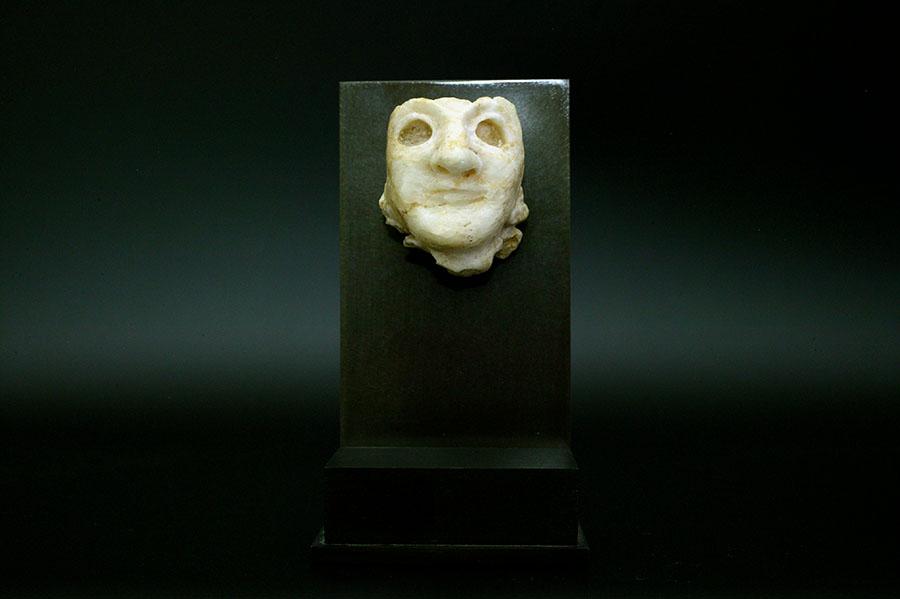 アンティーク メソポタミア 女性の人面像
