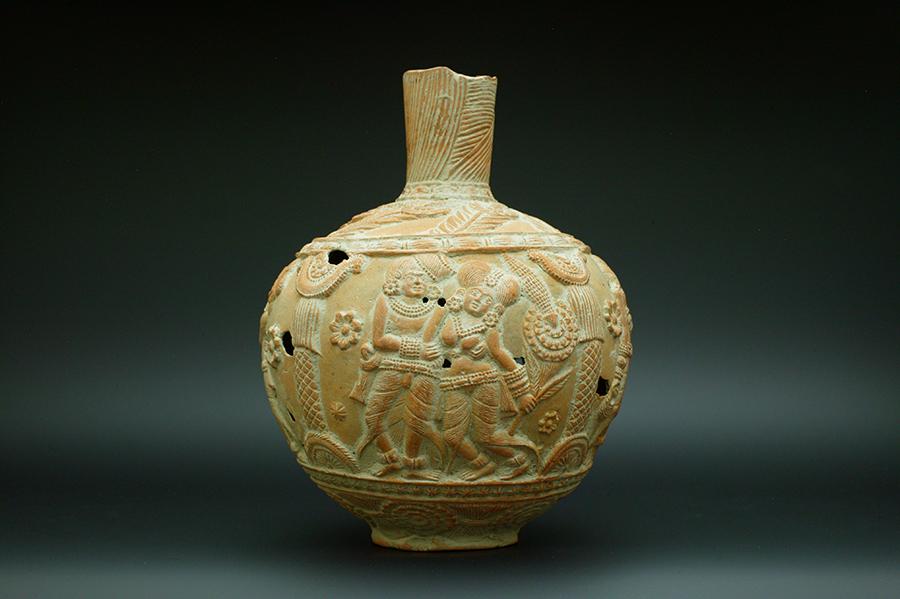 アンティーク シュンガ朝様式の土器