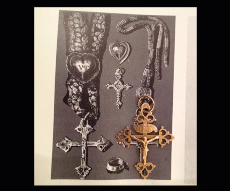 アンティークジュエリー ペンダント ネックレス 十字架
