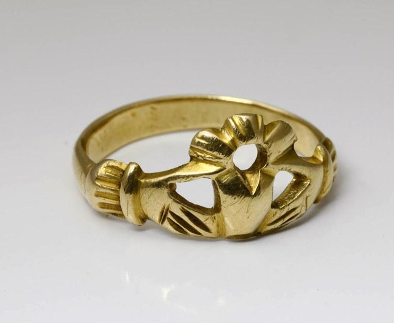 アンティークジュエリー 18世紀 ゴールド フェデリング